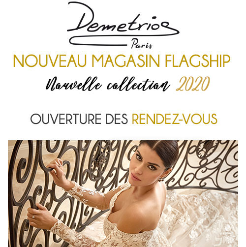 Robe De Mariée Demetrios Collection 2020